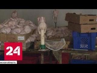 Цех с тухлой курицей в Реутове не собирается закрываться - Россия 24