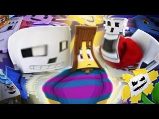 Undertale The POOViE (Minecraft Undertale Animation YTP)  Headphones Warning 