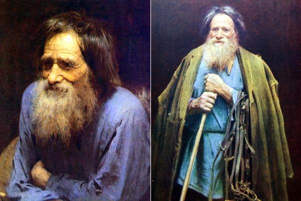 «Крестьянин с уздечкой» (Портрет Мины Моисеева), Иван Николаевич Крамской