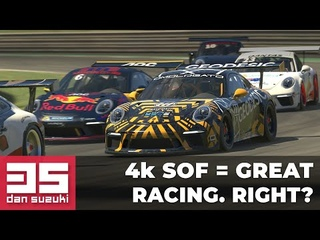 4K SOF means clean, great racing, right? | Porsche GT3 Cup @ Red Bull Ring | iRacing