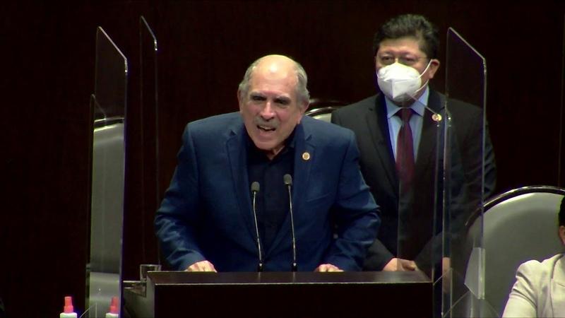 19 10 2020 Intervención en tribuna del Dip Pablo Gómez Álvarez