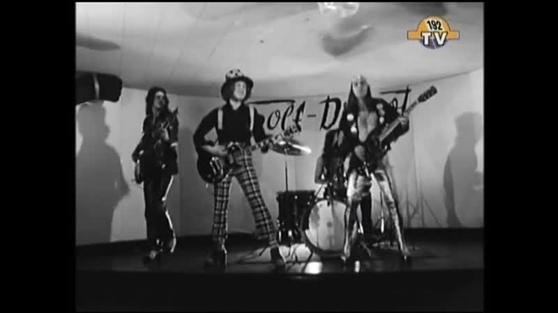 Slade Cum on feel the noize Rare Original Footage French TV 1973 Rebroadcast