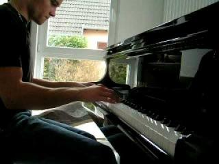FF7 Crisis Core Medley piano