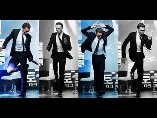 Tom Hiddleston dancing