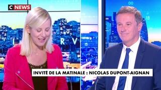 Nicolas Dupont-Aignan sur CNEWS (6 juillet 2021)