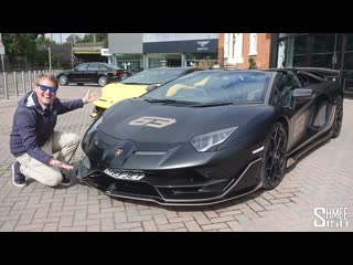 My Friend Bought the FIRST Aventador SVJ 63 Roadster! Rana65556's New Car
