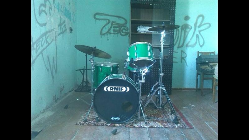 Rmif drums 117 ПЕРЕЗАЛИВ! Кавер Дейва Векла - Crazy Horse