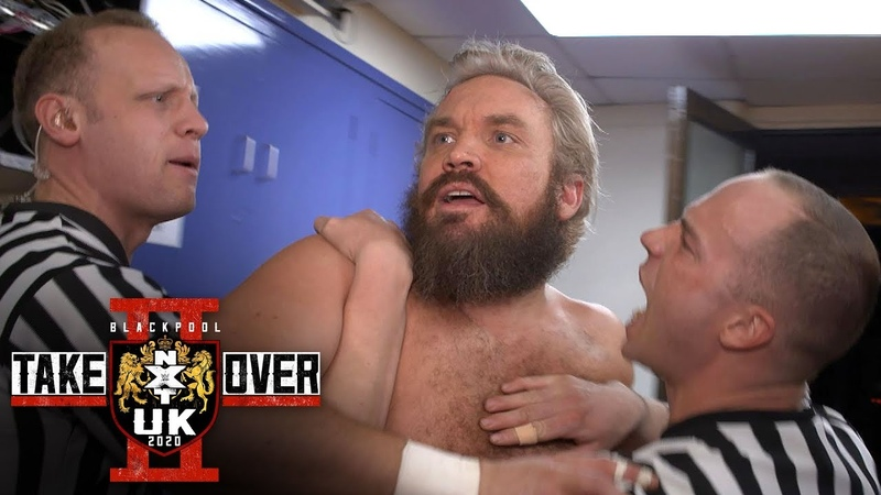 Trent Seven argues with Eddie Dennis backstage WWE Exclusive Jan. 12, 2020