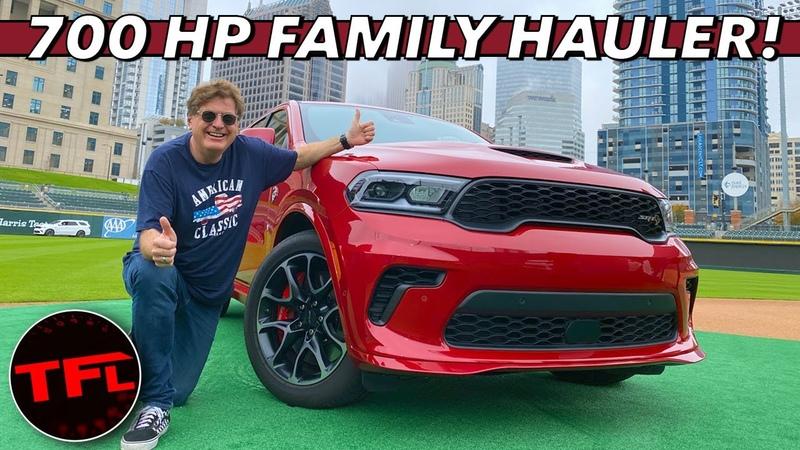 Meet The Insane 180 MPH Family-Hauling 2021 Dodge Durango SRT Hellcat!