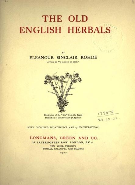 Old-english-herbals-1922-pdf