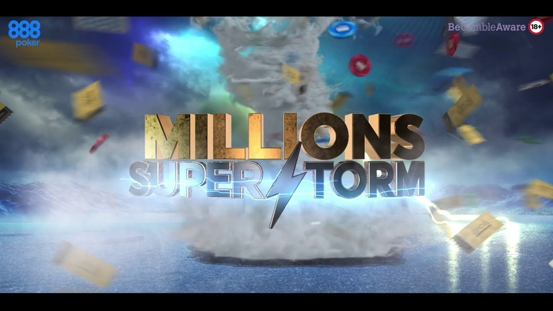 ⚡ The Millions Superstorm Has Arrived 888poker ⚡