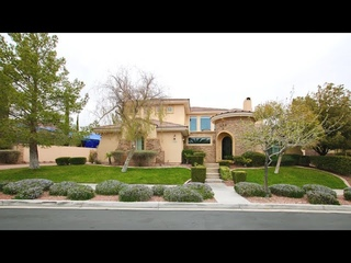 Guard Gated Summerlin Home For Sale | $ | 6 Rooms | 5 Baths | Resort Backyard Pool & Spa | 3 Car