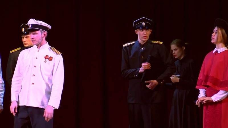 Последний белый корабль Енисейск 5 11 2017