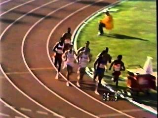 Men's 800m Final at LA Olympics in 1984