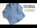 DIY Cómo hacer camisa jeans para niños patrones gratis