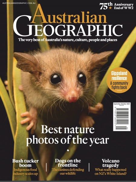 Australian Geographic. September - October 2020
