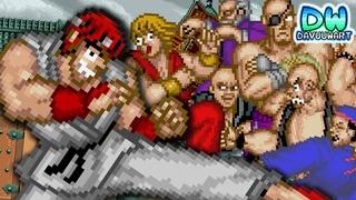 Ryu y Ken deciden ser el mejor Street Fighter | DavuuWart Animaciones