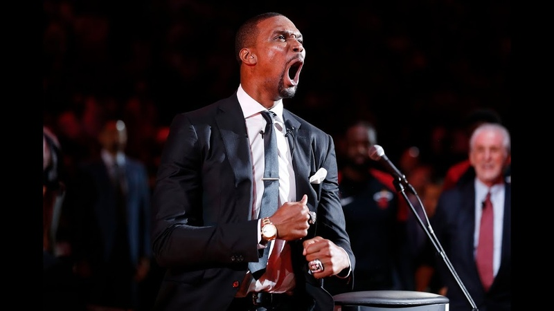Chris Bosh Gets His 1 Jersey Retired In Miami | March 26, 2019 NBANews NBA ChrisBosh