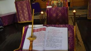 Проповедь отца Сергия на чтение Канона Андрея Критского (стояние Марии Египетской)