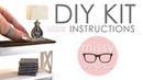 HOW TO MAKE this Fabulous MINIATURE Rustic Lamp - Modern Mini DIY Kits by Missy Miniac
