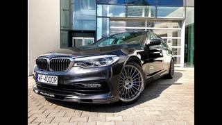 BMW B5 ALPINA 2018 - 608 hp - 4.4 l. V8 BiTurbo - Test & Review in Warsaw !!