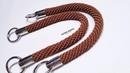 Crochet    Tutorial Rajut Tali Ulir - Spiral Rope for Bag Handle - 003