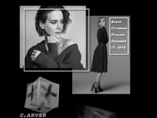 Evan Peters x Emma Roberts / Sarah Paulson