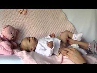 """Силиконовая девочка """"Misty"""" от Thistleberry Babies"""