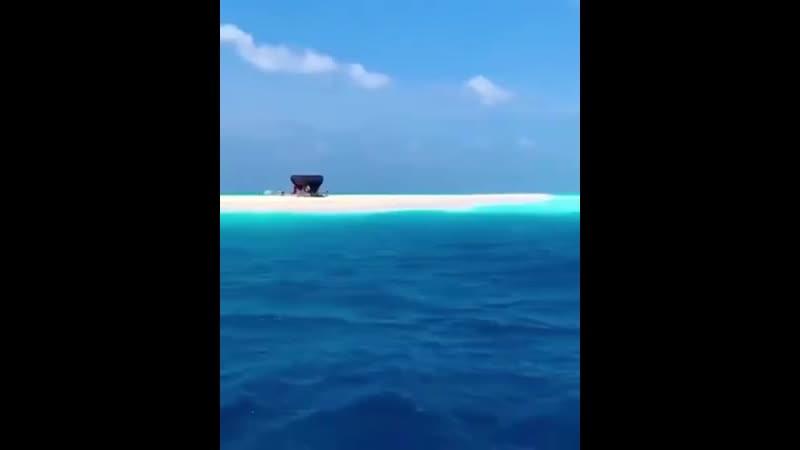50 оттенков синего на Мальдивах 😍♥️♥️♥️