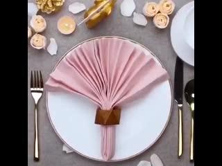 Хитрая хозяйка ()Сервируем стол красиво на Новый год