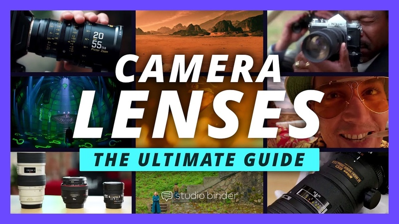 Ultimate Guide to Camera Lenses Every Type of Camera Lens Explained Shot List Ep 7