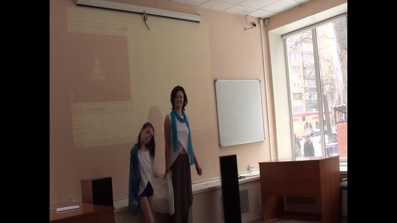 Театр Рифмограда стихотанец Ирины и Таи Новиных