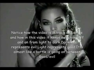 """Beyoncé - """"Single Ladies"""" (Reversed with Illuminati message)"""