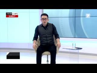 """Renato Usati, invitatul lui Alex Cozer, la emisiunea """"Secretele Puterii"""" de la Jurnal TV"""
