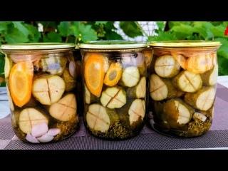 Знаменитые огурцы по-еврейски на зиму! Вся наша улица готовит по этому рецепту!