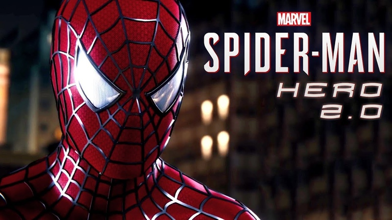Marvel's Spider Man PS4 Hero 2 0 Raimi Suit