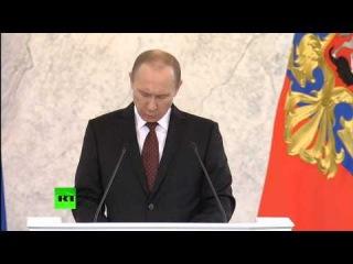 Послание Федеральному собранию: миссия России, Сирия, ПРО в Европе, Украина