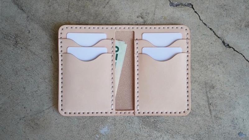 Бумажник бифолд от Low Tide Leather