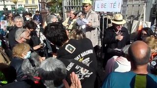 Les Gilets Jaunes de Cannes à la manifestation des Patriotes à Nice le 26 février 2021