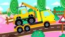 Три медведя - Новые песенки про машинки! Мультики для детей