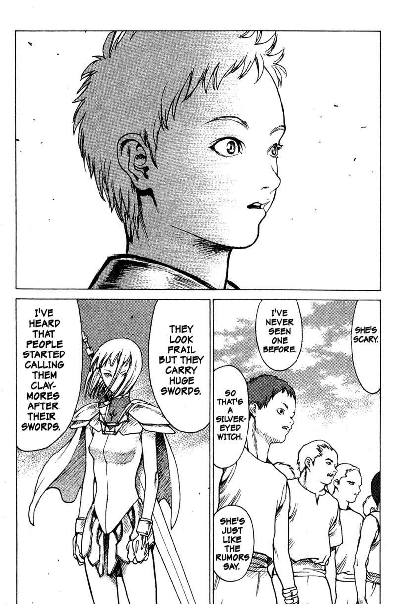 Claymore, Chapter 1, image #20