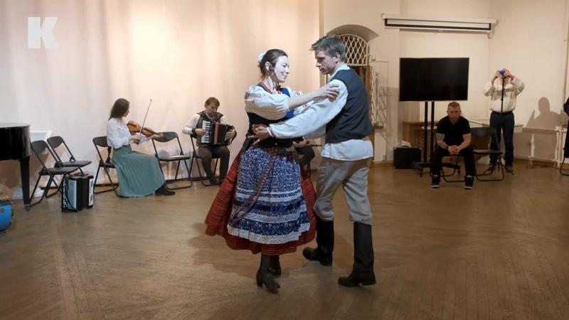 Танцювальна капела Білорусі На Таку Майстер клас з танців