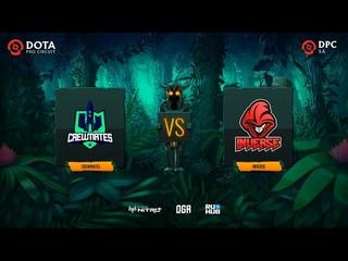 Inverse vs Crewmates, OGA DPC SA Regional League S1, bo3, game 2 [Lex & 4ce]