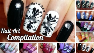 Nail Art Compilation #2 - Drag Dry Marble
