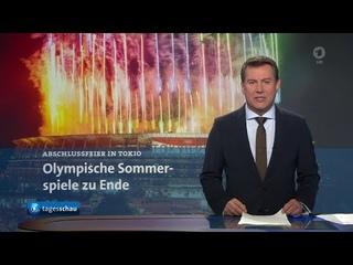 tagesschau 20:00 Uhr, : Ende olympische Spiele, Taliban in Kundus, Waldbrände