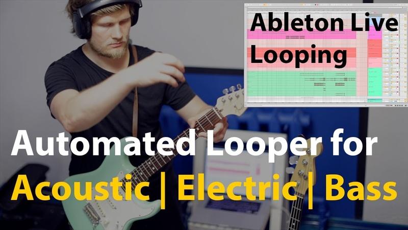 Ableton Live Looping performance (Elliahh - Creaky Freaky Try)