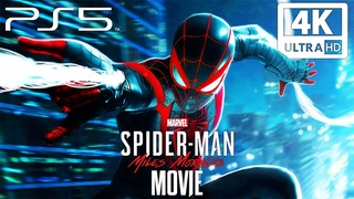 SPIDER-MAN: MILES MORALES PS5 All Cutscenes (4K 60FPS) Game Movie Ultra HD