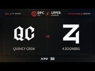 Quincy Crew vs 4 Zoomers, Dota Pro Circuit 2021 NA S2, bo3, game 2 [4ce & Smile]