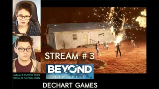 #3 Beyond Two Souls in Co-Op with Bryan (as Aiden) & Amelia (as Jodie) - Dechart Games