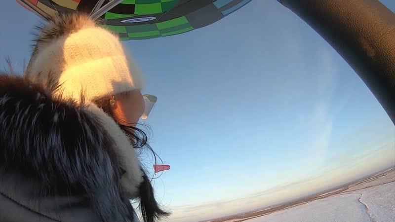 Асхат и Алия предложение на Воздушном шаре